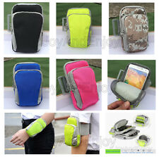 Running Jogging Sports Gym Keys Money Pouch Arm Wrist Bag Case For Samsung Phone