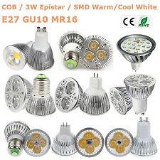 NEW SMD/COB/EPISTAR Spot Light MR16 GU10 E27 Lamp 15W/12W/9W/7W/5W/3W LED Bulb