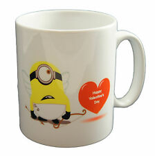 Despicable Me Minions Love Valentines Cupid Close Up Mug Cup Gift Present