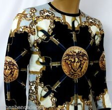 NEW WT MEN'S VERSACE LONG SLEEVE T-SHIRT SWEAT-SHIRT
