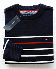 NWT Mens Tommy Hilfiger Crewneck Striped Sweater