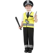 Childrens Boys Fancy Dress Policeman Kids Police Uniform Costume World Book Day