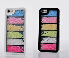 Luxury Bling Crystal Diamonds Rainbow Cases Covers For iPhone5 5S 4 4S 5C SCH2