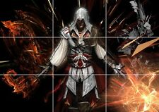 ASSASSINS CREED GAME HUGE MOSAIC POSTER 35 INCH x 25 INCH