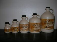 100% Pure Wisconsin Maple Syrup Grade A Medium Amber
