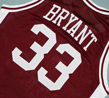 KOBE BRYANT #33 LOWER MERION HIGH SCHOOL JERSEY MAROON SEWN  NEW   ANY SIZE
