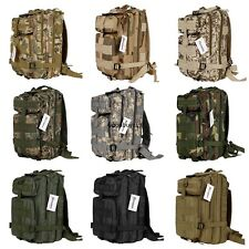 Outdoor 30L Tactical Military Rucksack Camping Backpack Bag Pack USA