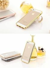 Crystal Rhinestone Diamond Bling Metal Bumper Case Cover for iPhone 6 / 5S 4S