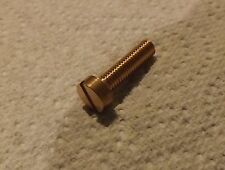 2BA  10BA 12BA Brass Cheese Head Bolts /  Screws  4 or 10 pack for model making
