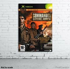 Commandos: Strike Force Poster Xbox Game Cover Artwork Picture A2 A3 A4 A6 Sizes