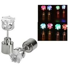 1PC Nice Light Up LED Bling Ear Studs Earrings Accessories for Dance Party