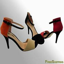 NEW WOMEN'S HIGH HEEL SANDAL WITH ANKLE STRAP