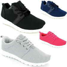 Stunning Ladies Womens Trainers Sports Gym Jogging Running Casual Shoe New Size