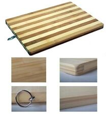 Large Wooden Bamboo Chopping Solid Cutting Food Slicing Dicing Board