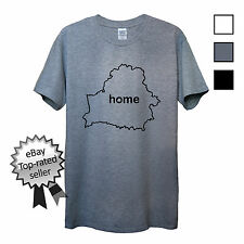 BELARUS HOME T-Shirt FIND YOUR OWN Country Men OR Women's Fitted Lukashenko Top