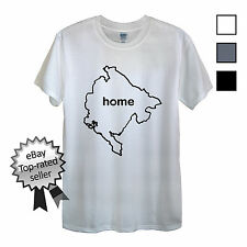 MONTENEGRO HOME T-Shirt FIND YOUR OWN Country Men OR Women's Flag National shirt