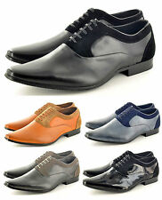 Mens Formal Shoes Oxford Work Wedding Lace Up Smart Office Size UK 6 7 8 9 10 11