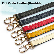 Genuine LEATHER Purse Strap Adjustable Cross-body Shoulder Replacement Handbag