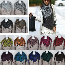 Hot Sale! Women Mens Arab Shemagh Keffiyeh Palestine Scarf Shawl Wrap 12 Colors