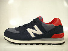 New Balance ML574PNV (Navy Blue / Red) 574 Mens - Classic - Pennant Series Pack