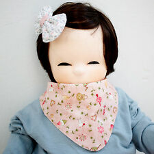 Cute Newborn Baby Scarf Bib Girl Boy Unisex Cotton Infant Toddler Handmade Eb95