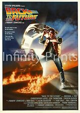 Back to the Future Movie Film Poster A3 A4