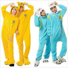 Adventure Time FINN Jake Pajamas Kigurumi Cosplay Animal Onesie Sleepwear