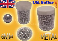 Metal BB Bullets Pellets 6mm High Quality Spring Airsoft Gas BB Gun Rifle Silver