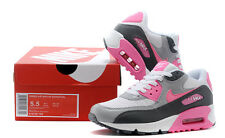 Womens Nike air max 90 hot pink white grey women shoes sales