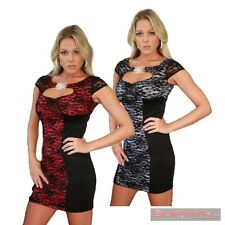 Womens Fashion Dress Size 8-10 Sexy Lace Sleeveless Casual Hot Party Club Wear