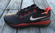 Nike TW 14 2014 Tiger Woods Tour Pro Golf Shoes Spikes 599416-001 Black Red Mens