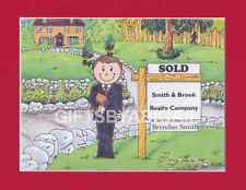 REALTOR Personalized Cartoon Person Picture Gift - Custom Matted Print