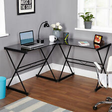 NEW L-Shaped Corner Computer Desk Home Office Study Sudent Table  CHOOSE COLOR
