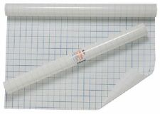 Clear Self Adhesive Sticky Back Plastic Grid Cover Film Exercise Books Clearseal
