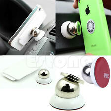 360 Degrees Universal Car Mount Sticky Magnetic Stand Holder For iPhone Samsung