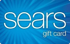 Sears Gift Card $25/ $50/ $100 - Mail delivery