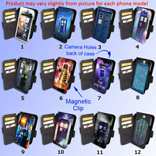 Dr Tardis DOCTOR WHO Popular Police Box Dalek iPhone Samsung Phone cover WALLET