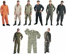 Military Flight Suit Air Force Style FOX or ROTHCO Coveralls Choose Size