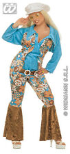 PLUS SIZE HIPPIE WOMAN  1960'S  1970'S WOODSTOCK CARNIVAL FANCY DRESS COSTUME