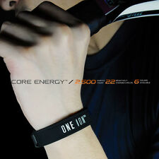 ONE ION CORE ENERGY Power Wristbands Ion Balance Energy Bracelet Band