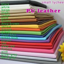 Small lychee PU leather fabric,faux leather,car interior,Upholstery leather, BTY