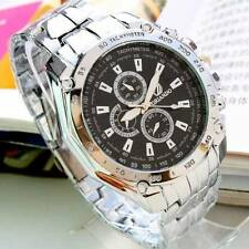 NEW Mens  Luxury Wrist Watch Quartz Analog Stainless steel *SALE*