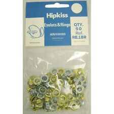 Hipkiss Brass Eyelets & Rings. Lots Of Sizes, For Awnings Tents & Tarps