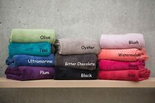 Large great Colours, Microplush Super Soft Throw Rugs or Blankets,Bambury