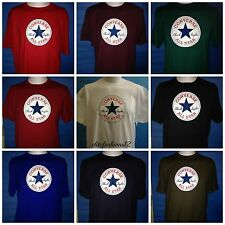Converse All Star Chuck Taylor Crew Neck T Shirt,9 Colors BNWT