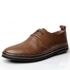 Fashion New European style Genuine Leather Men's oxfords Casual Dress Shoes