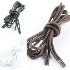 Useful Solid Color Round Waxed Shoelaces For Leather shoes/shoes Laces Strings