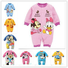 0-18Month Outfit Baby Boys Girls Cartoon Cotton Bodysuit Costume Romper Clothes