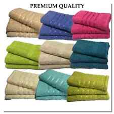 EXTRA LARGE  3 X JUMBO BATH SHEETS   85CM X 150CM EACH   100% QUALITY COTTON