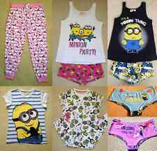 Minion Despicable Me Agnes Unicorn Women's PJS Pajamas Tshirt Pyjamas Primark